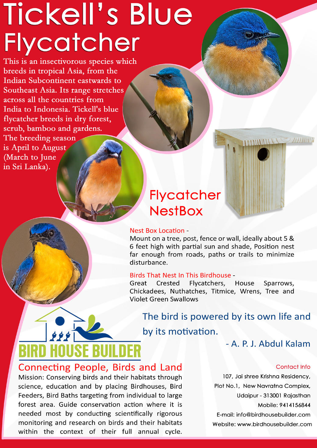 Flycatcher NestBox